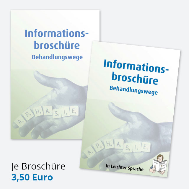 Informationsbroschüre - Behandlungswege - Je Broschüre 3,50 Euro