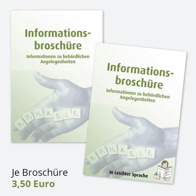 Informationsbroschüre - Informationen zu behördlichen Angelegenheiten - Je Broschüre 3,50 Euro