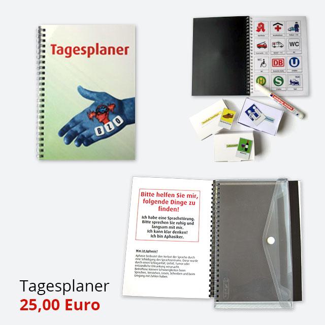 Tagesplaner mit Schutzmappe - 25 Euro